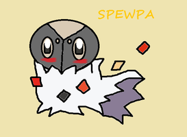 Day 1- Spewpa by XxGinger-The-StarxX