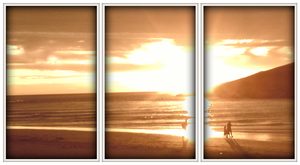 Cornwall Sunset Polaroids by chrisbrown55