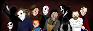 Horror Movie Icons by DarthGuyford