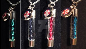 Resident Evil Virus Necklace by ShepardCommanderN7