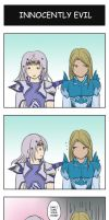 Dissidia: Innocently EVIL by StraySnake