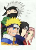 Team Kakashi Colour by toms2435