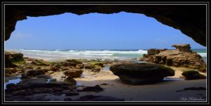Caves beach 2 by Purple-Dragonfly-Art