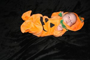 Baby - Pumpkin 8 by paradox11-stock
