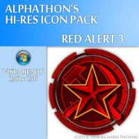 Red Alert 3 Icon by Alphathon