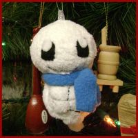 Squirtle Snowmon Ornament by sorjei