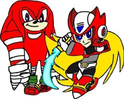 Boom Knuckles and Zero by tanlisette