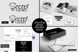 Jewelry shop Starter pack by PrintDesign