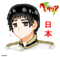 AT:  Hetalia Japan by azuna10