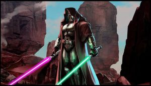 The Old Republic wallpaper Dark Jedi by zardis1965