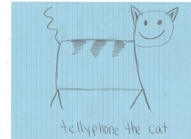 Tellyphone the Amazing Cat by emberstar13