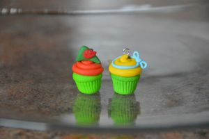 Disney Inspired Cupcakes - Peter Pan by SmileyHearts