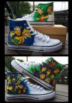 Simpsons Shoes by Madisya