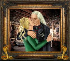 Lucius and Narcissa Malfoy by LuciusMalfoyClub