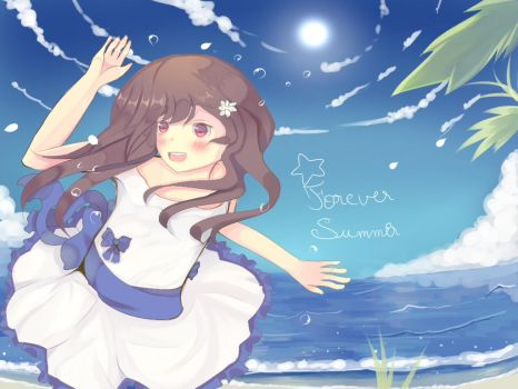 .:Forever Summer:. by yumiMitsuki