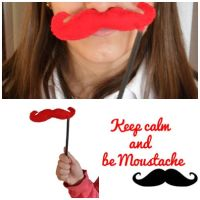 Keep calm and be Moustache by Lyd2000