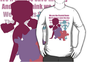 We are the Crystal Gems! by SpazztasticFanGirl