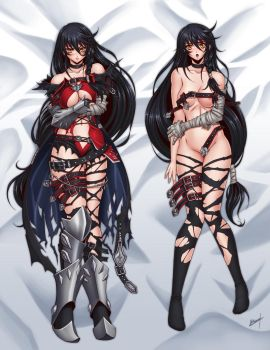Velvet Crowe Dakimakura by Karosu-Maker