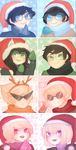 christmas icons for tumblr by topazzic