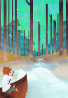 Dream Forest by Parachute-kiddo