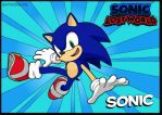 Sonic Lost World (Coloring practice) by SpongeDudeCoolPants