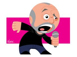 George Carlin by NLark