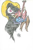 Marceline Floating by Jose-Miranda