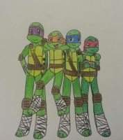 Tmnt by Randompikaturtle