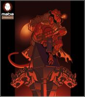 "Fan Art of ""HellBoy"" by MabaProduct"