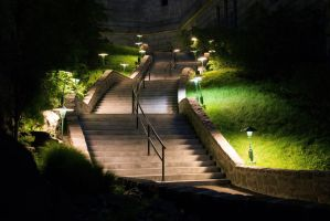 Montreal I, Oratorium's Stairs by 10thapril