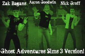 Ghost Adventures Sims 3 Style by SailorMoon190