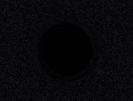 Black Hole in Deep Space by Aristodes