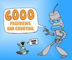 THANKS FOR THE 6000 PAGEVIEWS by mpcp13
