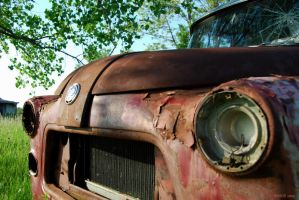 Rusted Wreck - 2009 by Mambolica