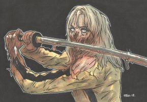 KILL BILL ZOMBIE by leagueof1