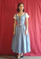 OUAT Belle Cosplay by Lady-Lovelace