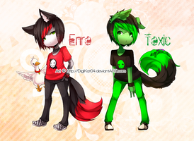 O o - Enro and Toxic  - o O by DigiKat04