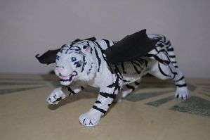 Winged White Tiger by Darkness-Fang