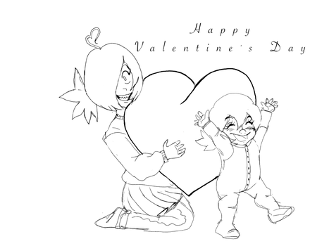 Valentine's Day greetings by anime1999