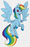 Erlangen Rainbow Dash by TariToons