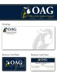 Office of the Auditor General cards and envelope by ChadFeldpausch