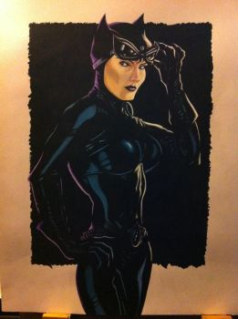 Catwoman by Skellyk