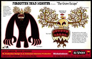 Forgotten Dead monster by mexopolis