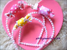 Princess Pearl Candy Headbands by prettypop