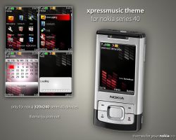XpressMusic Nokia Theme by snm-net