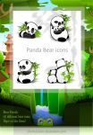 Panda Dock Icons by chicho21net