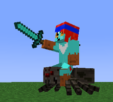 minecraft: to victory spider by cynderplayer