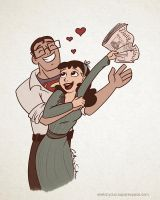 Lois and Clark by CatherineSatrun