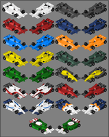 Pixel - Single-seater concept by StylePixelStudios
