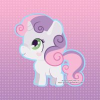 Sweetie Belle by Miss-Glitter